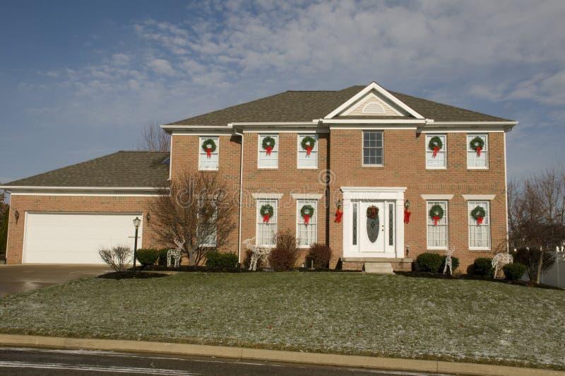 Casa en Ohio imagen de archivo