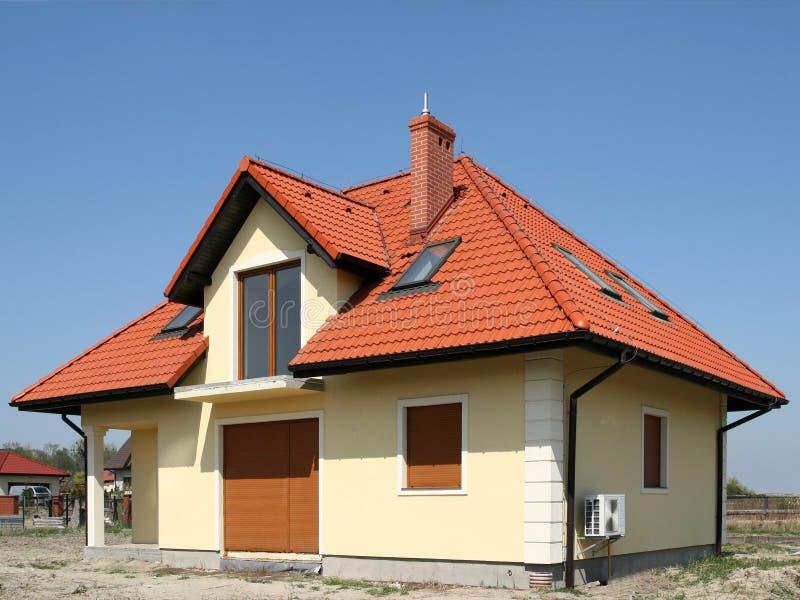 Casa en Polonia imagenes de archivo