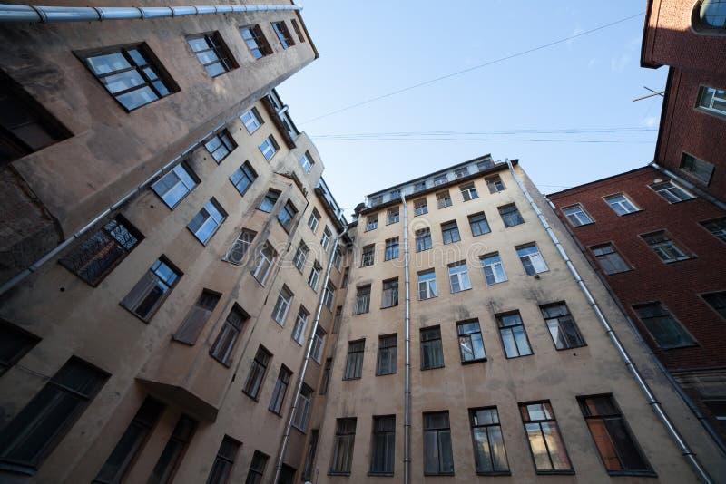 Casa en St Petersburg imágenes de archivo libres de regalías