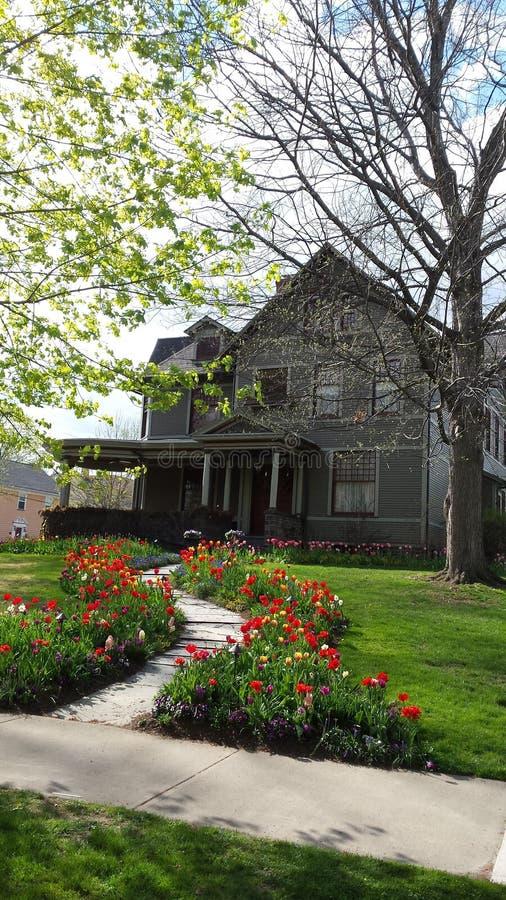 Casa en Susquehanna imagen de archivo libre de regalías