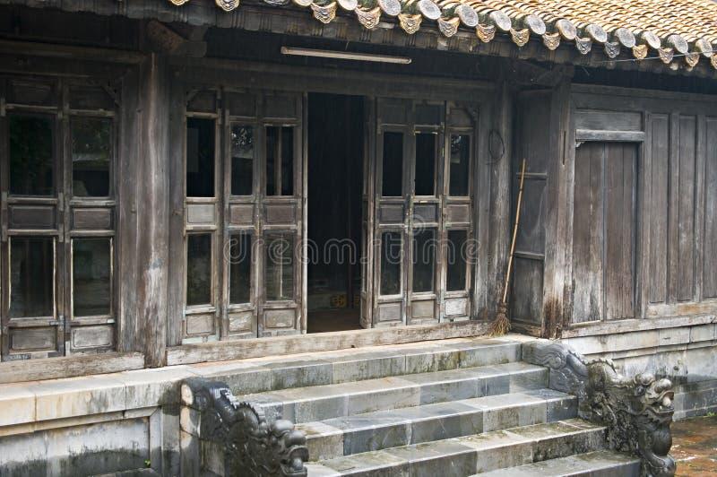 Casa en tumba del Tu Duc. Tonalidad, Vietnam. fotografía de archivo libre de regalías