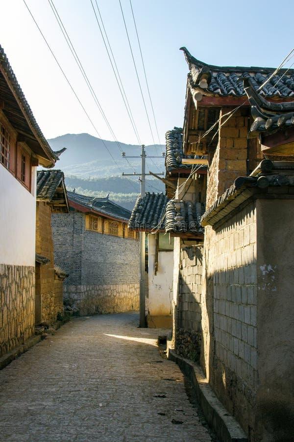 Casa en Yunnan China foto de archivo libre de regalías