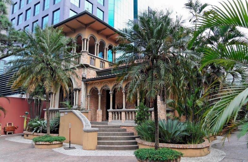 Casa espanhola em Sao Paulo imagem de stock royalty free
