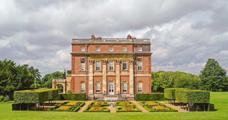 Casa esplêndido do parque de Clandon, Surrey, Inglaterra fotos de stock