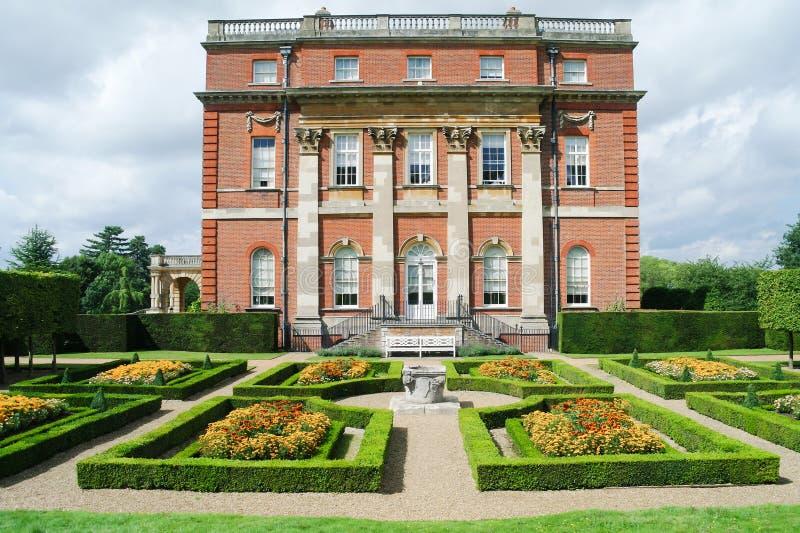 Casa esplêndido do parque de Clandon, Surrey, Inglaterra foto de stock royalty free