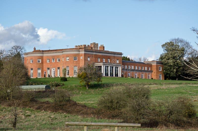 Casa esplêndido do parque de Highfield, Heckfield, Hampshire imagens de stock royalty free