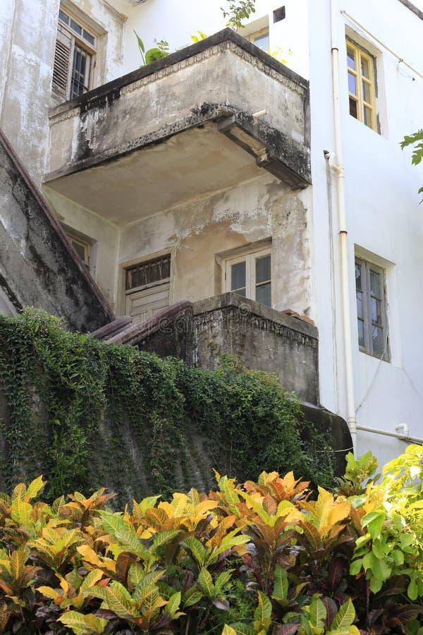 Casa europea del estilo en la isla de gulangyu foto de archivo