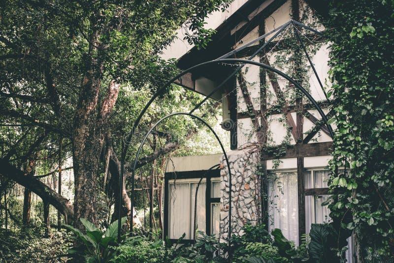Casa europeia velha do estilo fotografia de stock