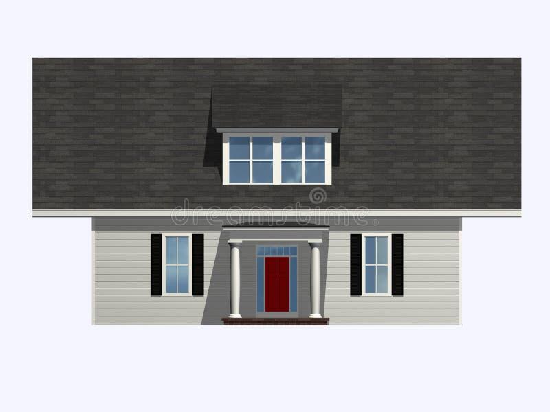 Casa extraña libre illustration