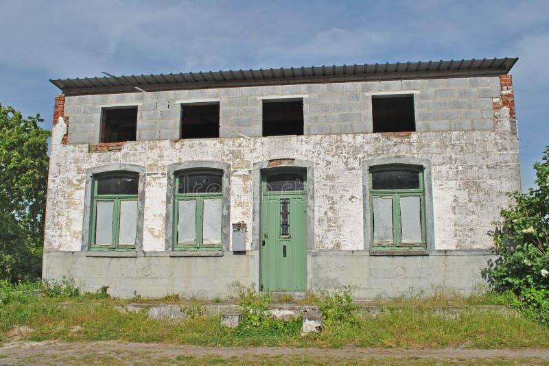 Casa fea vieja foto de archivo libre de regalías