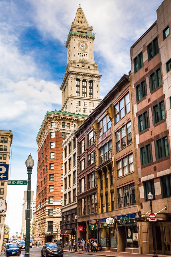 Casa feita sob encomenda Boston fotos de stock