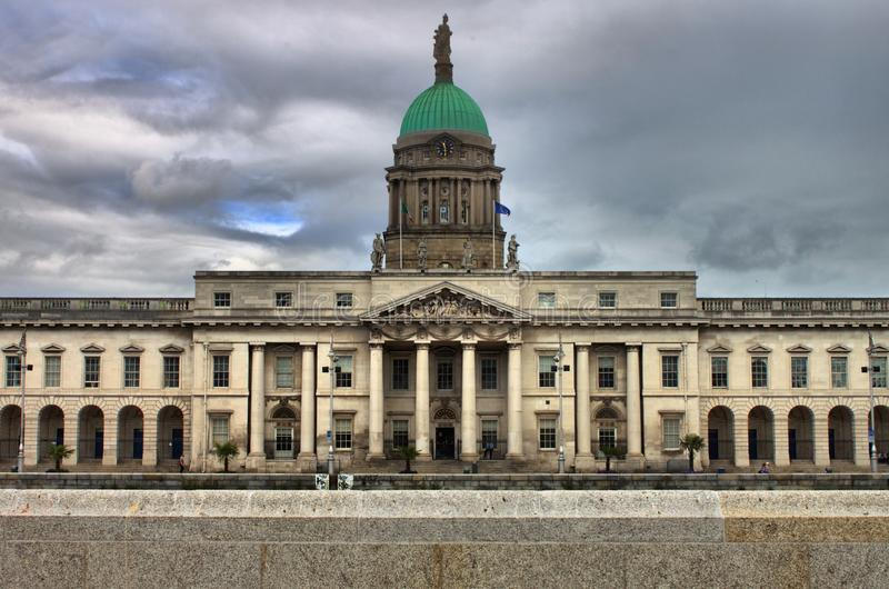 Casa feita sob encomenda em Dublin imagens de stock royalty free