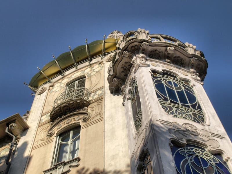 Casa Fleur, Turijn royalty-vrije stock afbeeldingen