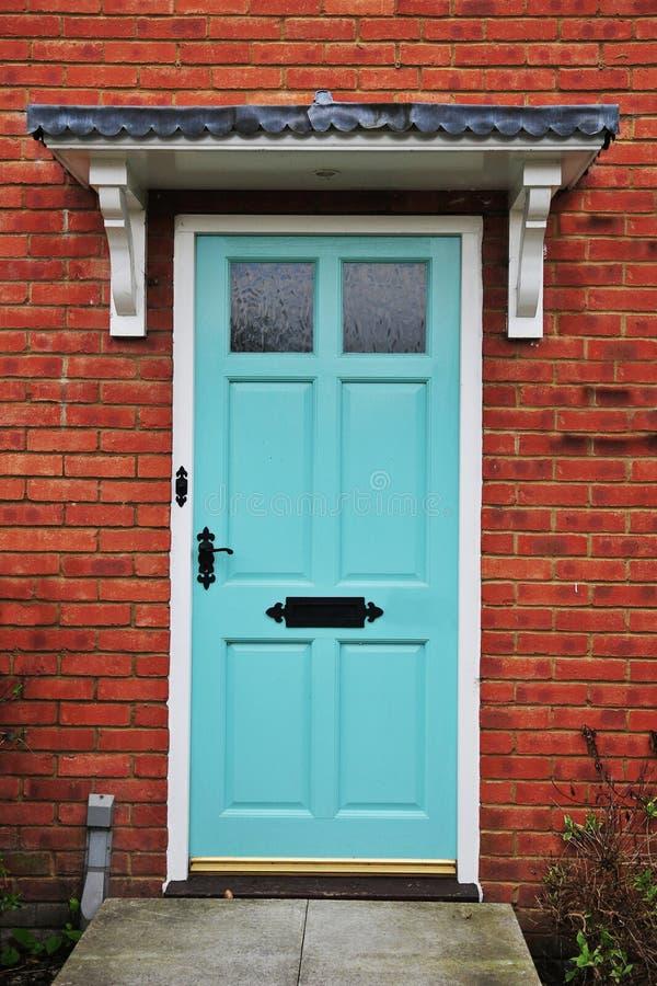 Casa Front Door foto de archivo