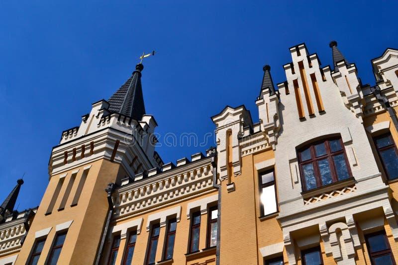 Casa gótico imagem de stock