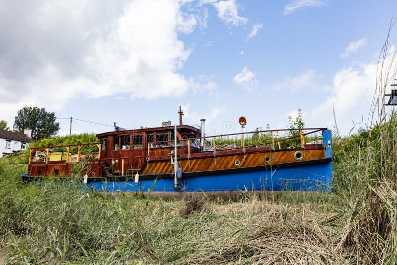 Casa galleggiante originale immagine stock libera da diritti