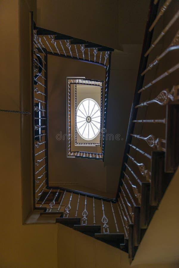 Casa georgiana Edimburgo Escocia imagenes de archivo