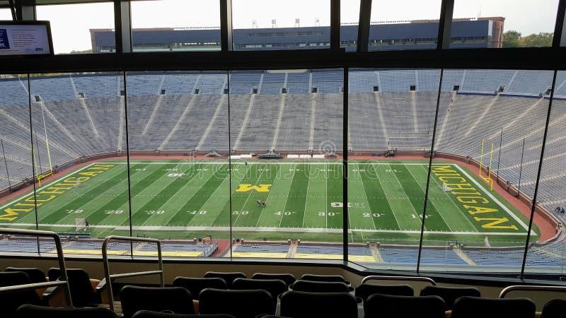 A casa grande, Michigan Stadium, Ann Arbor imagem de stock royalty free