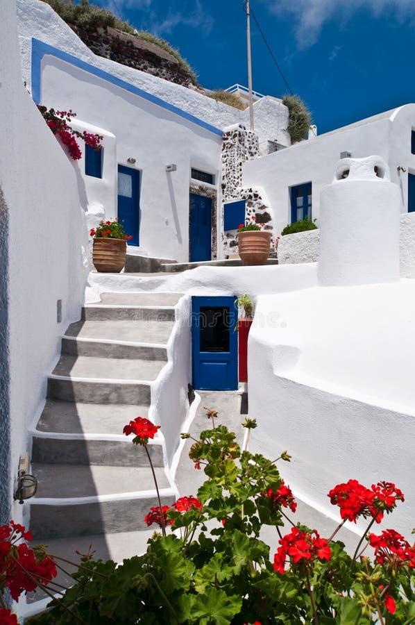 Casa greca immagini stock libere da diritti