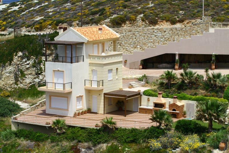 Casa greca fotografia stock immagine di casa lusso for Piccole case di rinascita greca