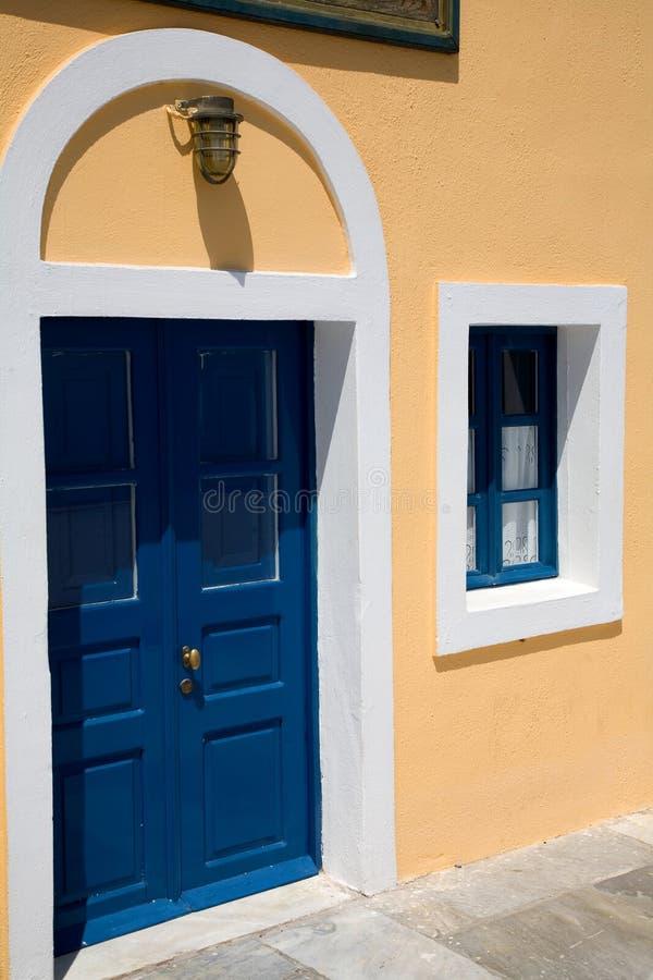 Casa greca immagini stock