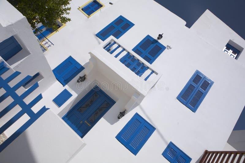 Download Casa greca tipica fotografia stock. Immagine di scale - 3140998