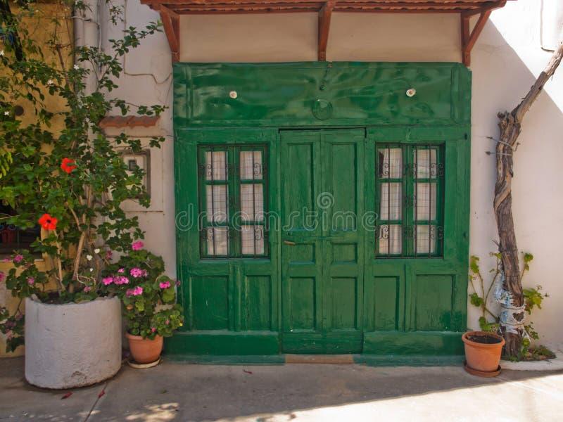 Casa griega imagen de archivo