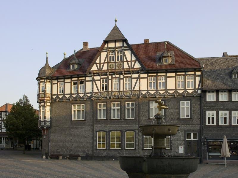 Casa Half-timbered imagem de stock