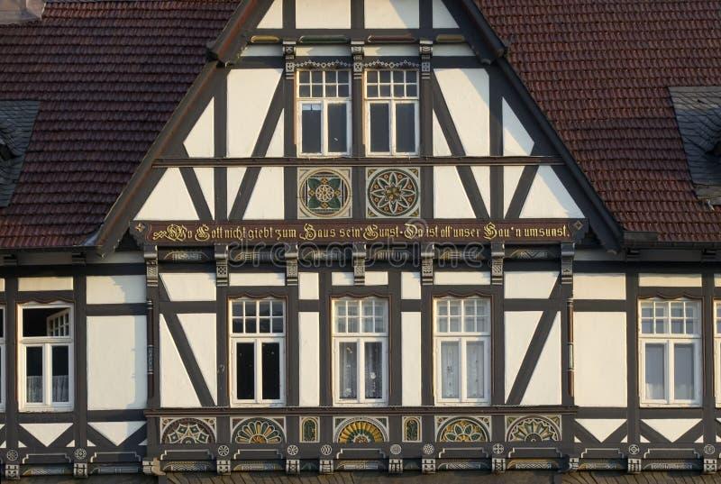 Casa Half-timbered fotos de archivo