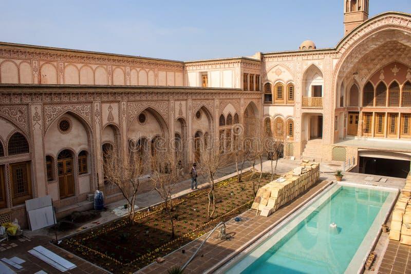 Casa histórica de Khan-e Ameriha imagem de stock royalty free