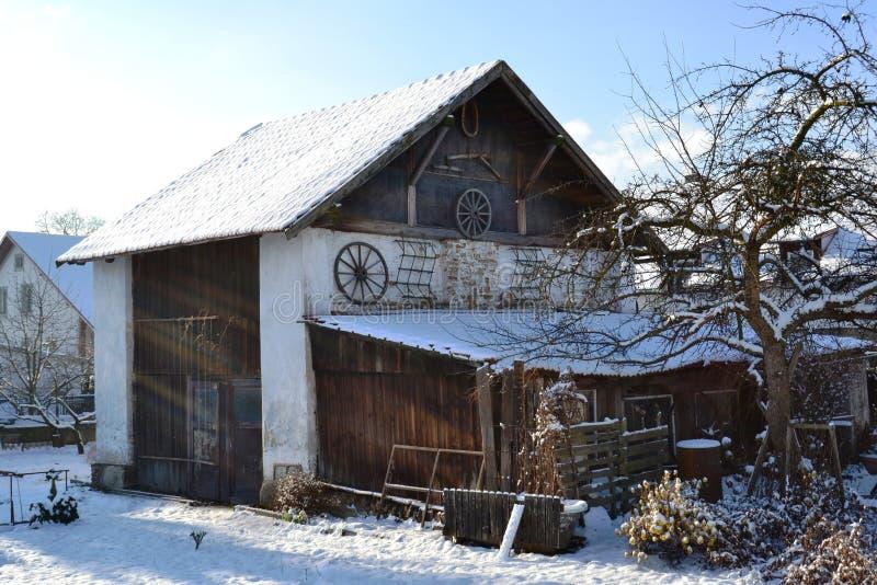 Casa histórica de la aldea imágenes de archivo libres de regalías
