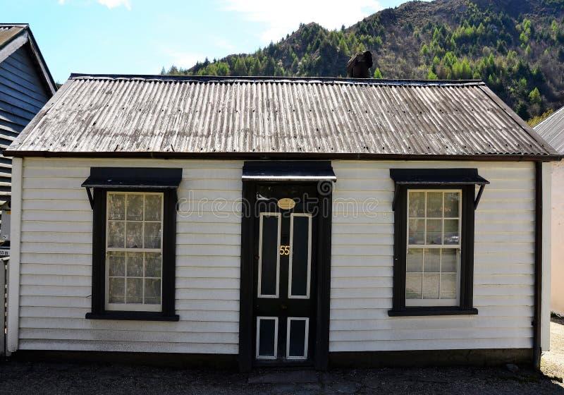 Casa histórica dos mineiros de ouro imagens de stock royalty free