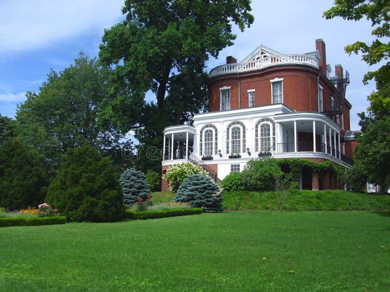 Casa histórica em Boston imagens de stock