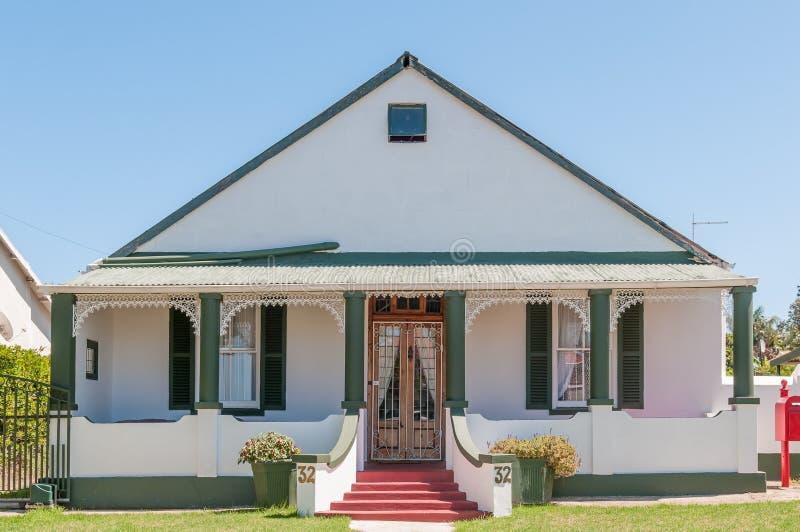 Casa histórica en Humansdorp imagenes de archivo