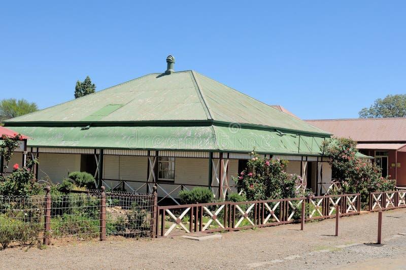 Casa histórica, Kimberley foto de stock royalty free