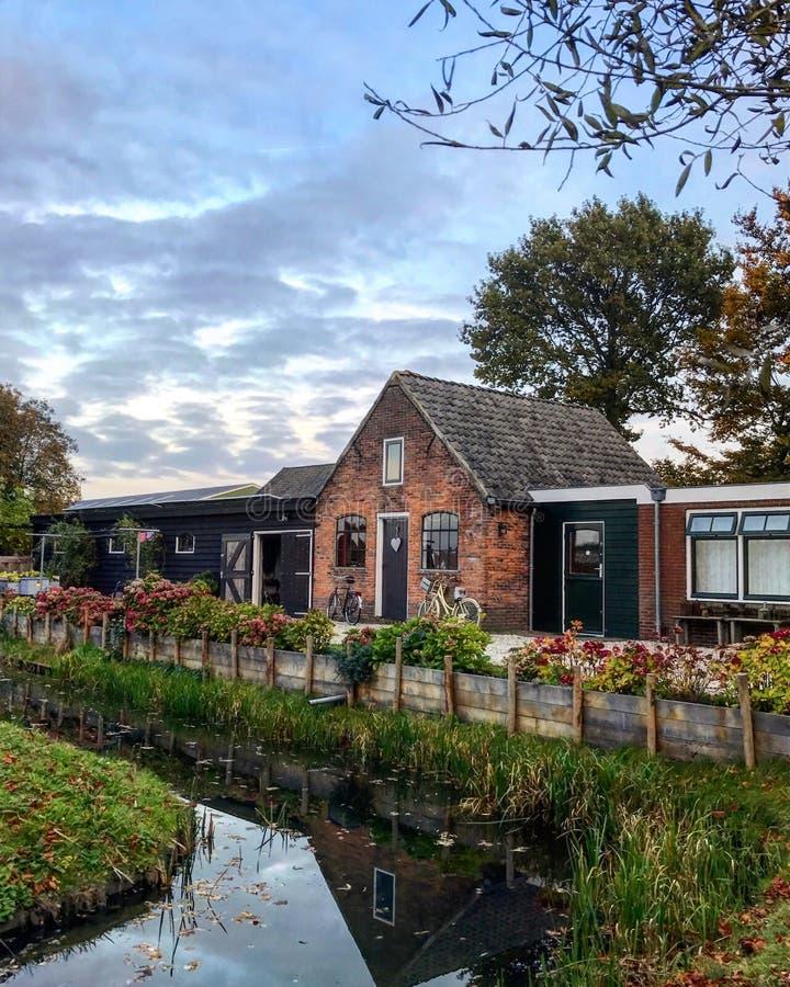 Casa holandesa fotografía de archivo libre de regalías