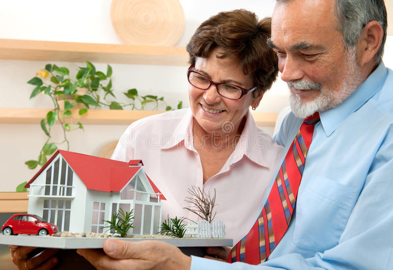 Casa ideal foto de stock royalty free