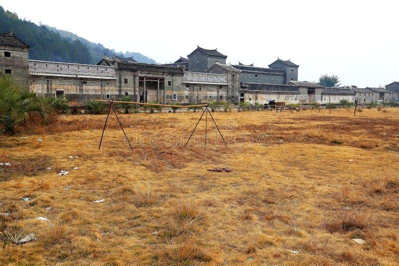Casa inclusa di hakka di Mantang fotografia stock libera da diritti