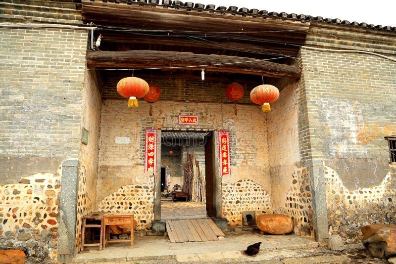 Casa inclusa di hakka di Mantang immagini stock libere da diritti