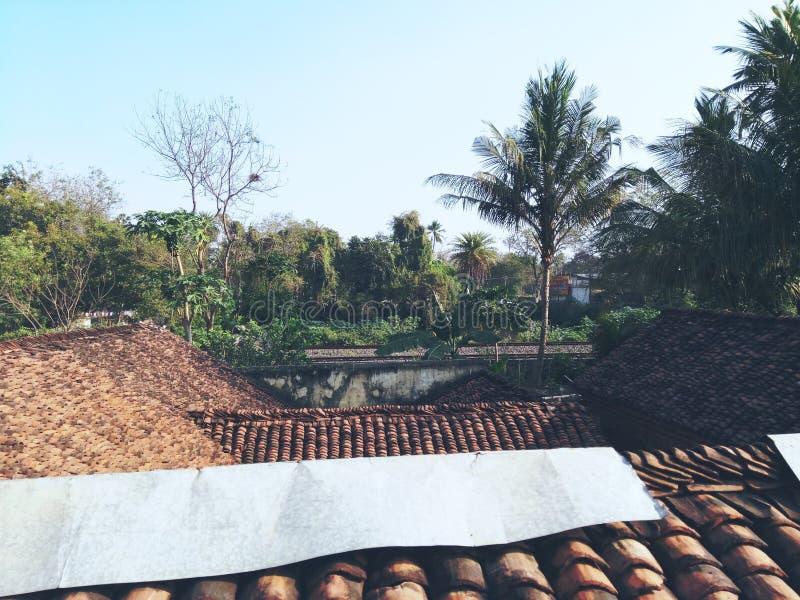 Casa indiana da vila foto de stock royalty free