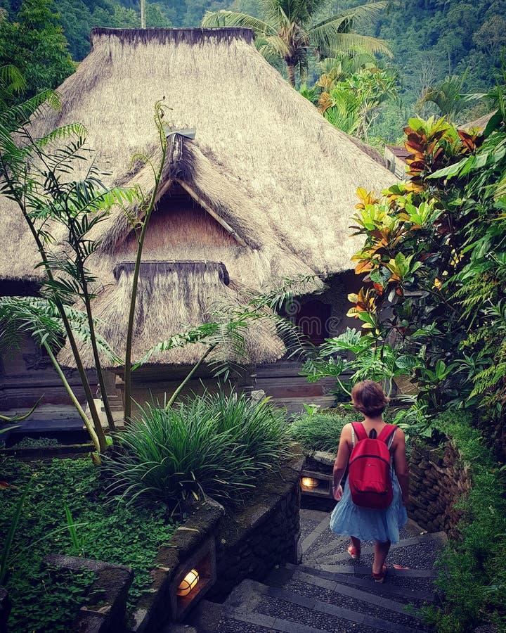 Casa indonésia fotografia de stock royalty free