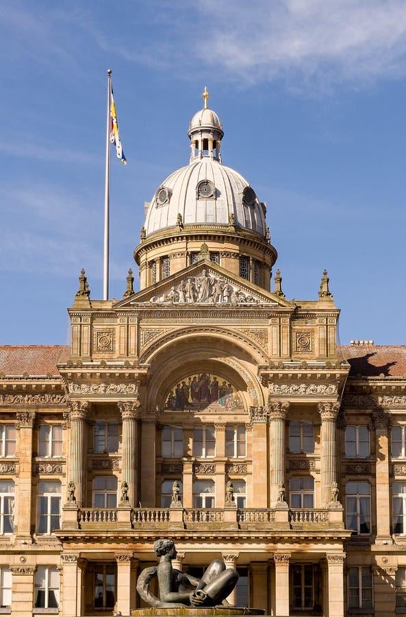Casa Inglaterra Reino Unido do Conselho de Birmingham imagens de stock