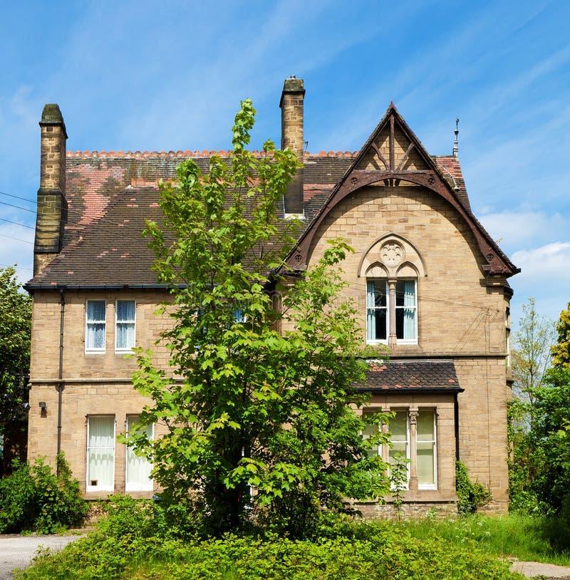 Casa inglesa velha imagem de stock