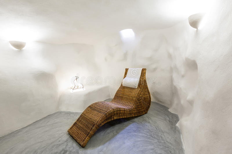 Casa interior balear de Majorca en estilo mediterráneo balear fotografía de archivo