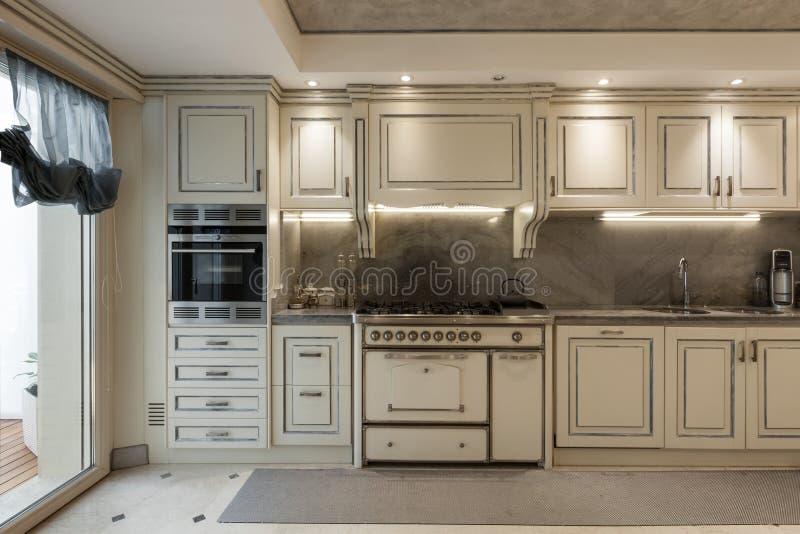 Casa interna, cucina immagine stock