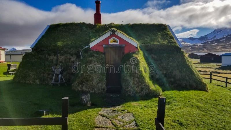 Casa islandese fotografia stock libera da diritti