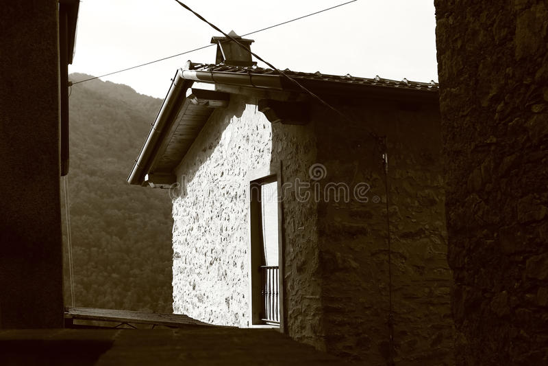 Casa italiana foto de archivo libre de regalías