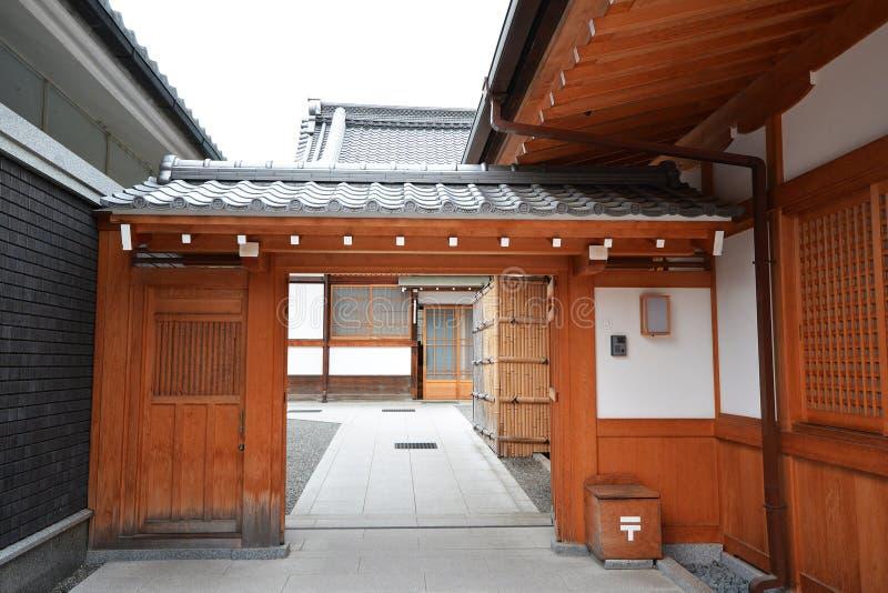 Casa japonesa tradicional imagen de archivo editorial - Casa tradicional japonesa ...