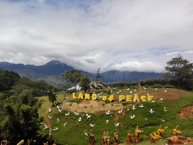 Casa Kapatagan Phil de Agong fotos de archivo