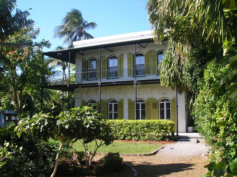 Casa Key West de Hemingway imagen de archivo